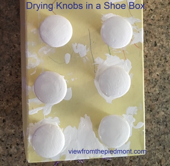 drying-knobs-in-a-shoe-box
