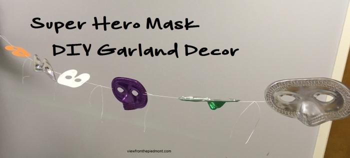 mask garland