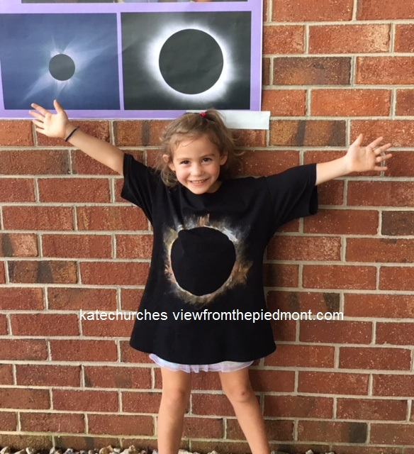 total solar eclipse tshirt front