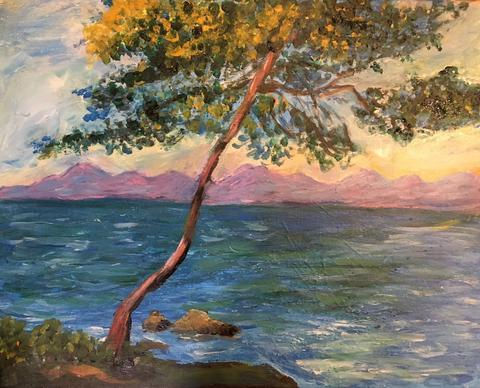 Monet Antibes Kate