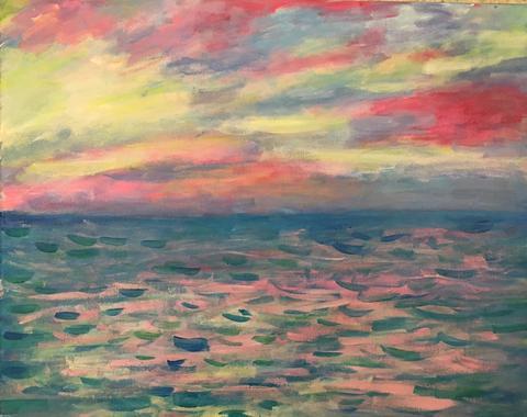 Monet Pourville 1882