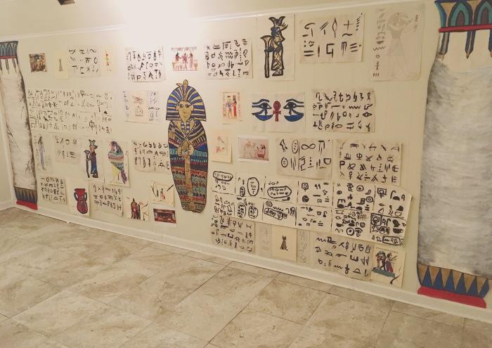 tomb wall